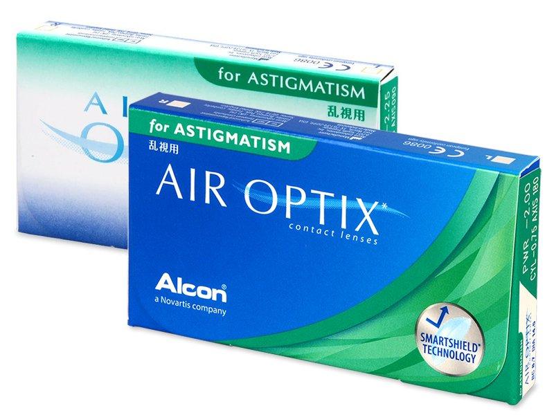 Air Optix for Astigmatism (3линзы)
