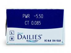 Focus Dailies All Day Comfort (30линз)