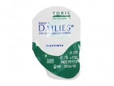 Focus Dailies Toric (30линз)