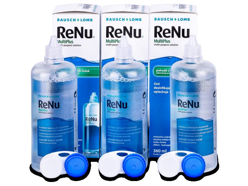 Раствор ReNu MultiPlus 3x360мл