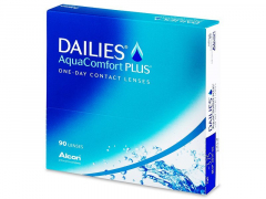 Dailies AquaComfort Plus (90линз)