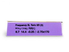 FREQUENCY XCEL TORIC XR (3 линзы)
