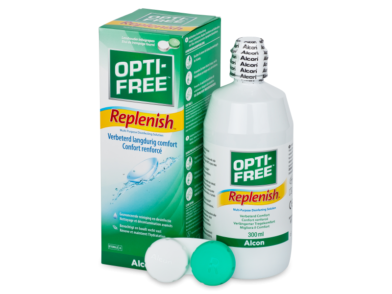 OPTI-FREE RepleniSH Раствор 300мл