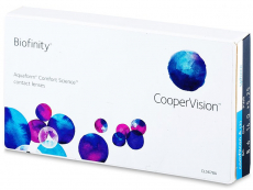 Biofinity (3линзы)