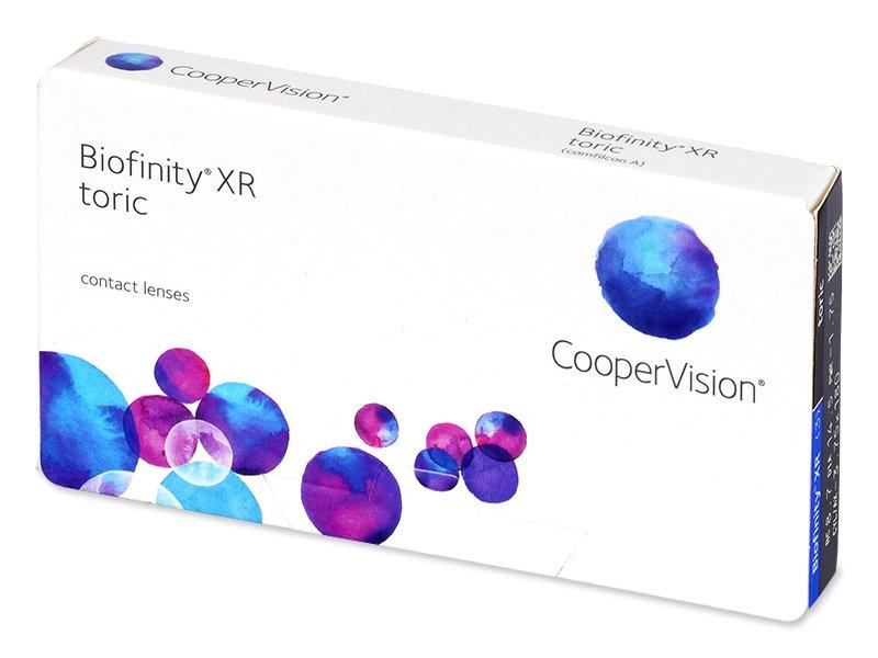 Biofinity XR Toric (3 линзы)